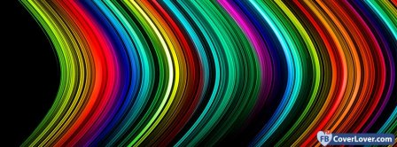 Colorful Neons  Facebook Covers