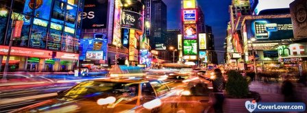 Colorful New York City  Facebook Covers