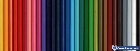 Colorful Pencils  Facebook Covers