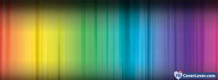 Colorful Spectrum  Facebook Covers