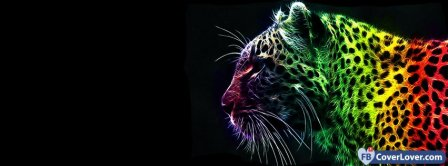 Colorful Tiger 2  Facebook Covers