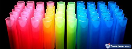 Colorful Tubes  Facebook Covers