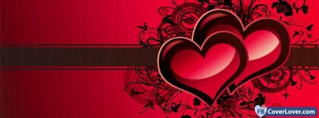 Colorful Cool Heart 5  Facebook Covers