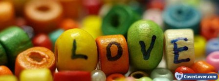 Colorful Love Facebook Covers