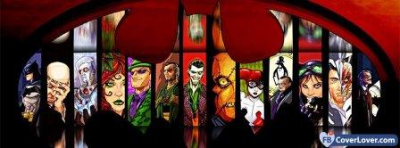 Batman Vilains   Facebook Covers
