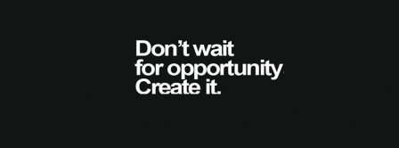 Create Opportunities Facebook Covers