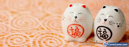 Cute Chinese Cats  Facebook Covers