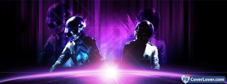 Daft Punk 2 Facebook Covers