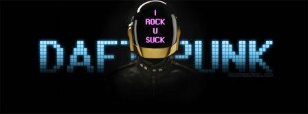 Daft Punk I Rock Facebook Covers