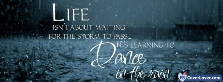 Dance In The Rain Facebook Covers