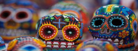 Day Of The Dead Skull Facebook Covers