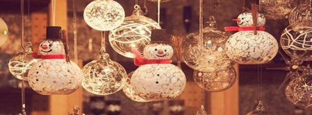 December Christmas Snowmen Decoration Facebook Covers