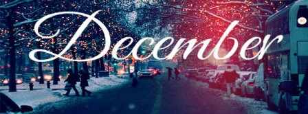 December Snow Facebook Covers