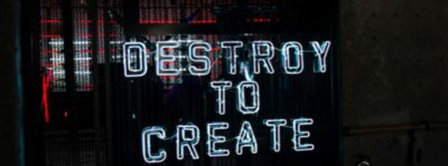 Destroy To Create Facebook Covers