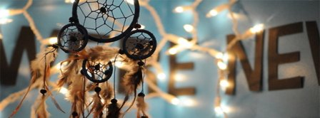Dreamcatcher Lights Facebook Covers