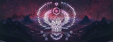 Dream Catcher Mystic Owl Facebook Covers