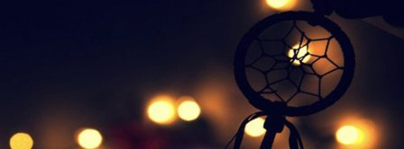 Dreamcatcher And Lights Facebook Covers
