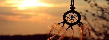 Dreamcatcher Hanging Facebook Covers