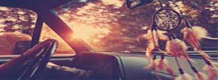 Dreamcatcher In A Car Facebook Covers