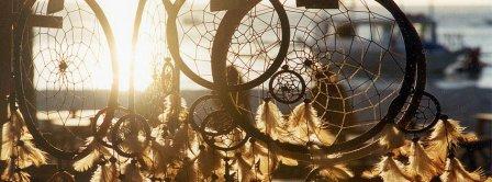 Dreamcatcher Sea Sunrise Facebook Covers