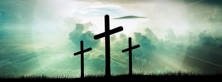 Easter Christ Cross 2021 Facebook Covers