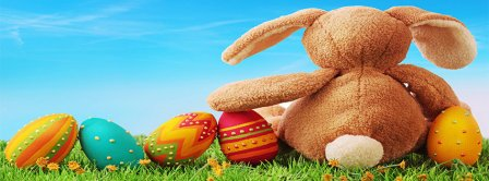 Easter Bunny Facebook Covers