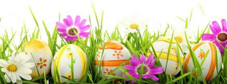Easter Eggs Facebook Covers