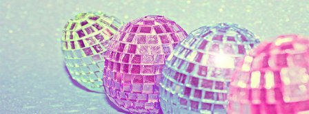 Easter Eggs Sparkling Mirrors Facebook Covers