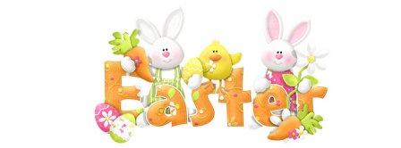 Easters Bunnies Facebook Covers