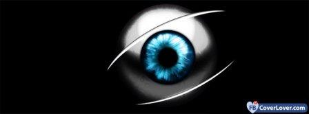 Blue Eye Ball Facebook Covers