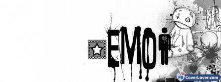 Emo Doll Facebook Covers