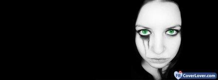Green Eye Girl  Facebook Covers