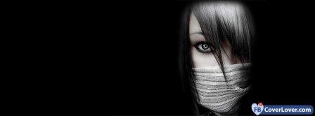 Silence Girl Facebook Covers