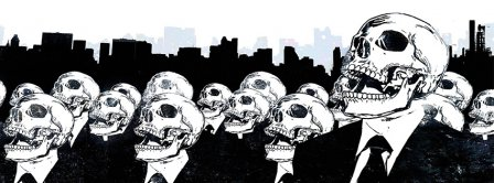 Skulls Army Facebook Covers