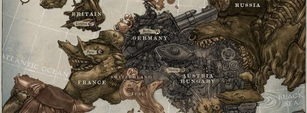 European Map Facebook Covers