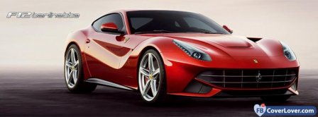 Ferrari F12 Berlinetta Facebook Covers