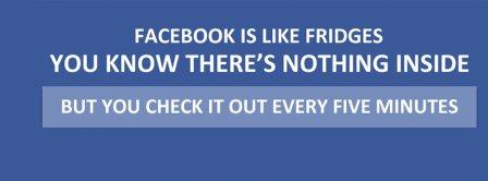 Facebook Is Like Fridges Facebook Covers