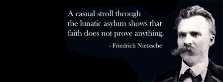 Faith Quote Friedrich Nietzsche Facebook Covers