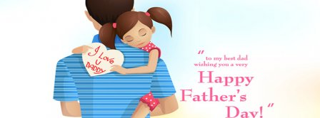 Fathers Day Always Safe In Your Arms Facebook Covers