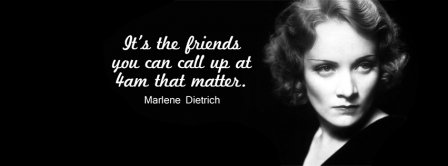 Friends Maerlene Dietrich Quotes Facebook Covers