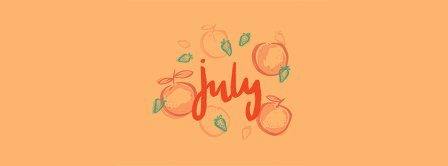 Fruity July Facebook Covers