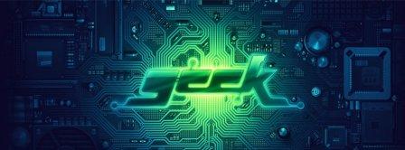 Geek Microchip Facebook Covers