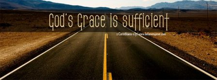 Gods Grace Is Sufficient Facebook Covers