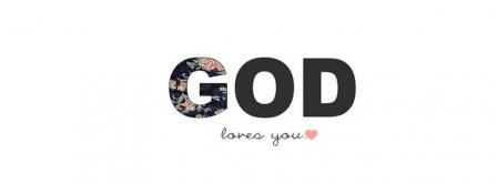 God Loves You Facebook Covers