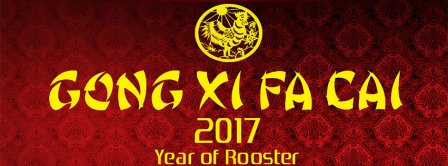 Gong Xi Fa Cai 2017 Facebook Covers