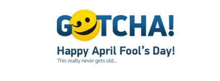 Gotcha Happy April Fools Day Facebook Covers