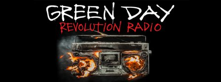 Green Day Revolution Radio Facebook Covers