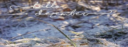 Hallo Dezember Facebook Covers