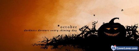 Halloween October Facebook Covers