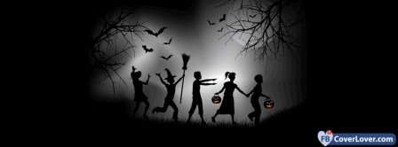Halloween Trick Or Treat Facebook Covers